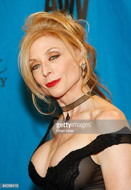 Adult film actress Nina Hartley arrives at the 26th annual Adult Video News Awards Show at the Mandalay Bay Events Center January 10 2009 in Las...