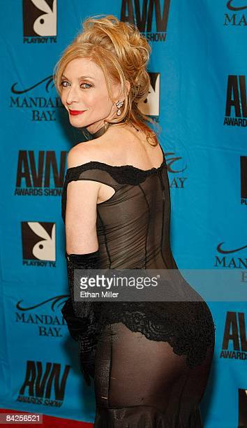 Adult film actress Nina Hartley arrives at the 26th annual Adult Video News Awards Show at the Mandalay Bay Events Center January 10, 2009 in Las...