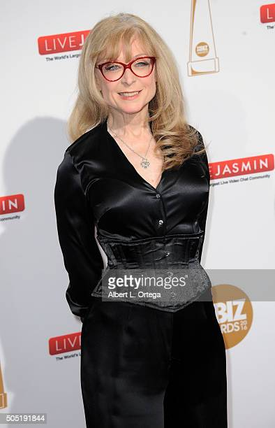 Adult film actress Nina Hartley arrives for the 2016 XBIZ Awards held at JW Marriott Los Angeles at LA LIVE on January 15 2016 in Los Angeles...