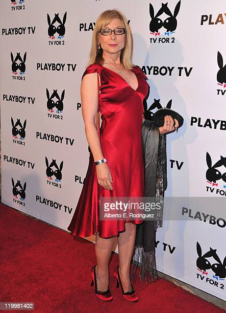 Adult film actress Nina Hartley arrives to Playboy TV's TV for 2 2011 TCA event on July 27 2011 in Los Angeles California