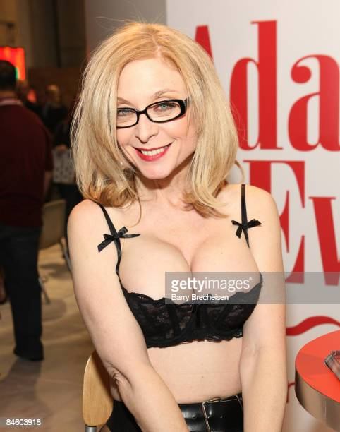 Adult film actress Nina Hartley attends the 2009 AVN Adult Entertainment Expo at the Sands Expo Convention Center on January 9, 2009 in Las Vegas,...