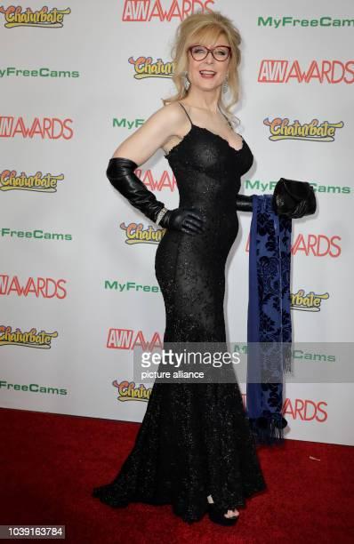 Adult film actress Nina Hartley attends the Adult Video News Awards AVN Awards at Hard Rock Hotel Casino in Las Vegas Nevada USA on 21 January 2017...