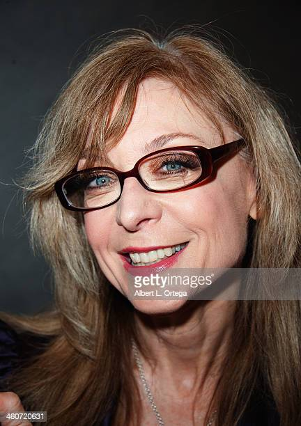 Adult film actress Nina Hartley attends The Hollywood Show at Lowes Hollywood Hotel on January 4 2014 in Hollywood California