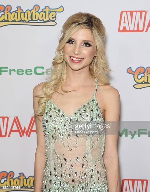 Adult film actress Piper Perri attends the 2017 Adult Video News Awards at the Hard Rock Hotel Casino on January 21 2017 in Las Vegas Nevada