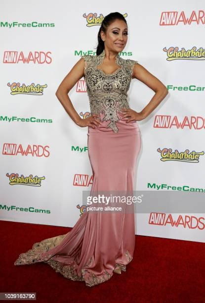 Adult film actress Priya Rai attends the Adult Video News Awards AVN Awards at Hard Rock Hotel Casino in Las Vegas Nevada USA on 21 January 2017...