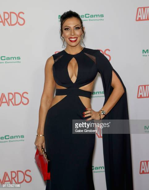 Adult film actress Rachel Starr attends the 2018 Adult Video News Awards at the Hard Rock Hotel Casino on January 27 2018 in Las Vegas Nevada
