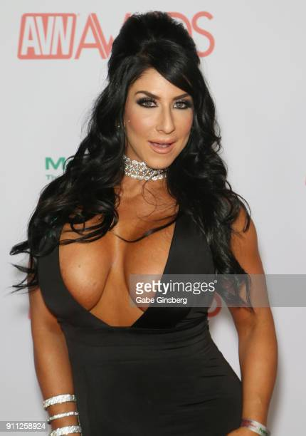 Adult film actress Raven Hart attends the 2018 Adult Video News Awards at the Hard Rock Hotel Casino on January 27 2018 in Las Vegas Nevada