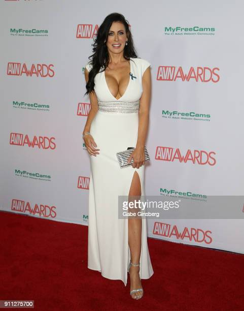 Adult film actress Reagan Foxx attends the 2018 Adult Video News Awards at the Hard Rock Hotel Casino on January 27 2018 in Las Vegas Nevada