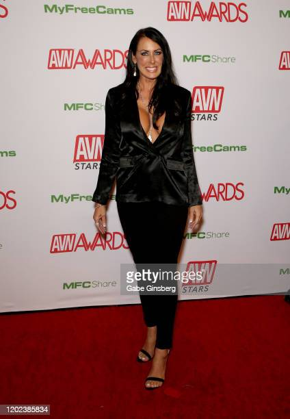 Adult film actress Reagan Foxx attends the 2020 Adult Video News Awards at The Joint inside the Hard Rock Hotel Casino on January 25 2020 in Las...