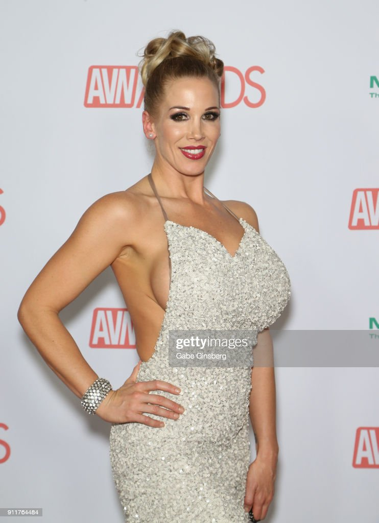 Adult film actress Rebecca More attends the 2018 Adult