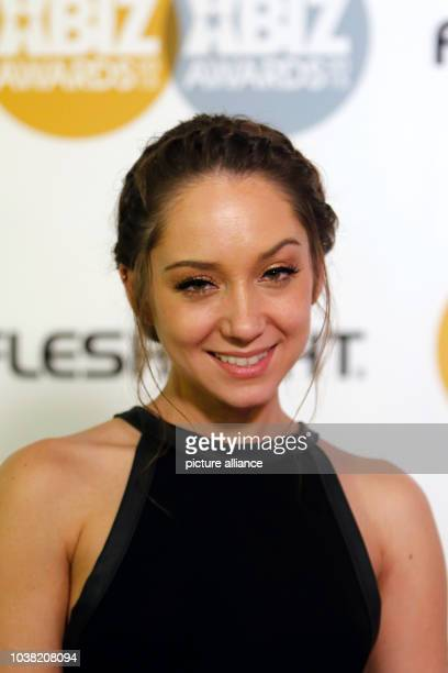 Adult film actress Remy Lacroix arrives at the 2015 Xbiz Awards in Los Angeles USA on 15 January 2015 Photo Hubert Boesl NO WIRE SERVICE | usage...