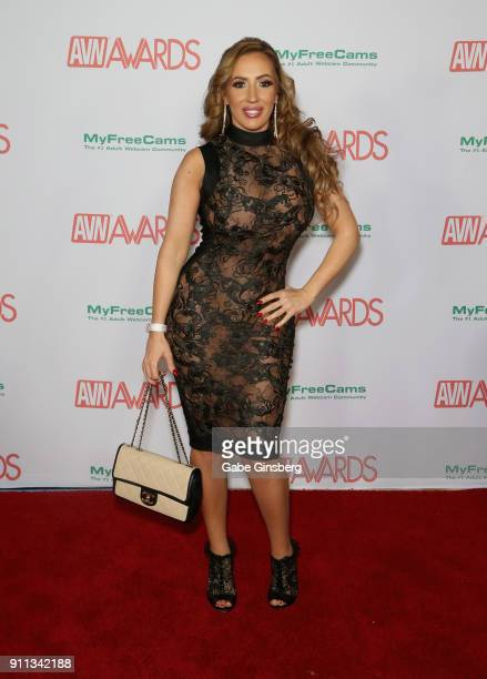 Adult film actress Richelle Ryan attends the 2018 Adult Video News Awards at the Hard Rock Hotel Casino on January 27 2018 in Las Vegas Nevada