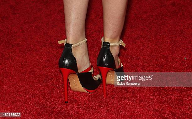 Adult film actress Riley Reid arrives at the 2015 Adult Video News Awards at the Hard Rock Hotel Casino on January 24 2015 in Las Vegas Nevada