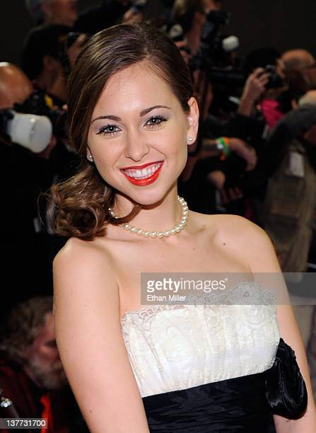 Adult film actress Riley Reid arrives at the 29th annual Adult Video News Awards Show at the Hard Rock Hotel Casino January 21 2012 in Las Vegas...