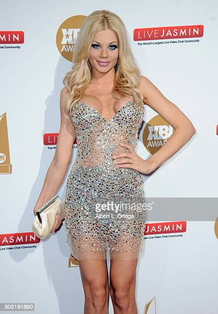 Adult film actress Riley Steele arrives for the 2016 XBIZ Awards held at JW Marriott Los Angeles at LA LIVE on January 15 2016 in Los Angeles...