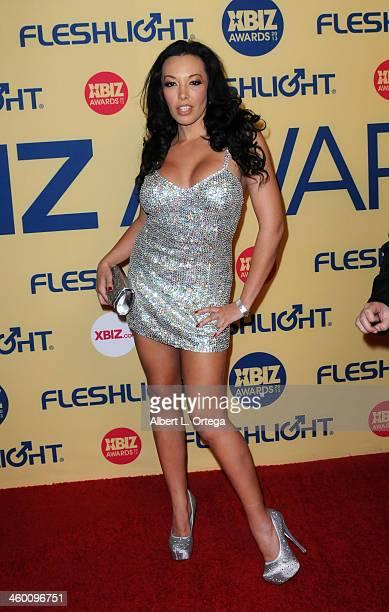 Adult Film actress Rio Lee arrives for the 2013 XBIZ Awards held at the Hyatt Regency Century Plaza on January 11 2013 in Century City California