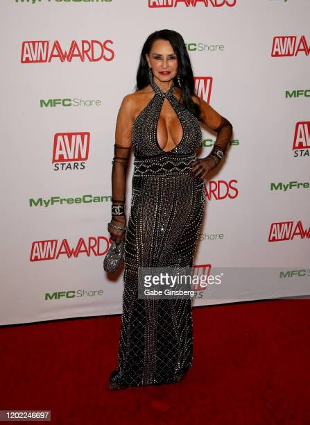 Adult film actress Rita Daniels attends the 2020 Adult Video News Awards at The Joint inside the Hard Rock Hotel Casino on January 25 2020 in Las...