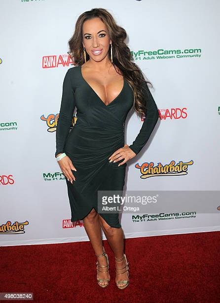 Adult film actress Rochelle Ryan at the 2016 AVN Awards Nomination Party held at Avalon on November 19 2015 in Hollywood California
