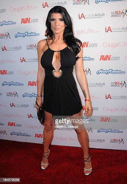 Adult film actress Romi Rain arrives for The 1st Annual Sex Awards 2013 held at Avalon on October 9 2013 in Hollywood California