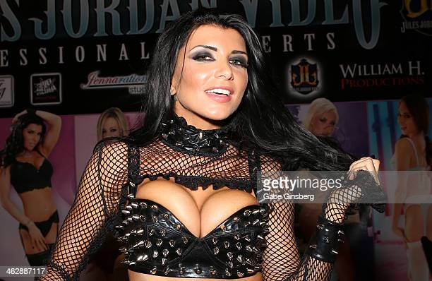 Adult film actress Romi Rain attends the 2014 AVN Adult Entertainment Expo at the Hard Rock Hotel Casino on January 15 2014 in Las Vegas Nevada