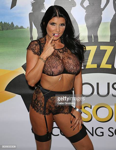 Adult film actress Romi Rain attends the 2016 AVN Adult Entertainment Expo at the Hard Rock Hotel Casino on January 20 2016 in Las Vegas United States