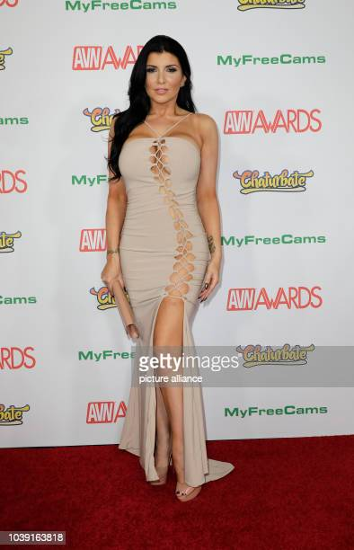 Adult film actress Romi Rain attends the Adult Video News Awards AVN Awards at Hard Rock Hotel Casino in Las Vegas Nevada USA on 21 January 2017...