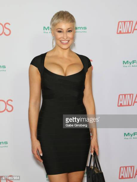 Adult film actress Ryan Keely attends the 2018 Adult Video News Awards at the Hard Rock Hotel Casino on January 27 2018 in Las Vegas Nevada