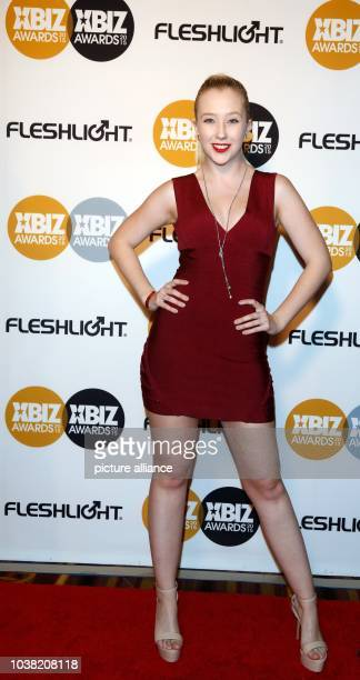 Adult film actress Samantha Rone arrives at the 2015 Xbiz Awards in Los Angeles USA on 15 January 2015 Photo Hubert Boesl NOWIRESERVICE   usage...