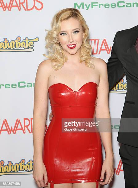 Adult film actress Samantha Rone attends the 2017 Adult Video News Awards at the Hard Rock Hotel Casino on January 21 2017 in Las Vegas Nevada