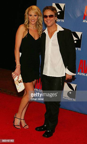 Adult film actress Samantha Ryan and actor Kurt Lockwood arrive at the Adult Video News Awards Show at the Venetian Resort Hotel and Casino January 7...