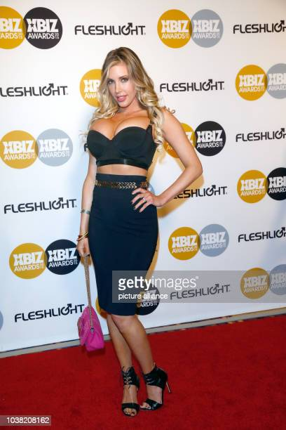 Adult film actress Samantha Saint arrives at the 2015 Xbiz Awards in Los Angeles USA on 15 January 2015 Photo Hubert Boesl NOWIRESERVICE   usage...