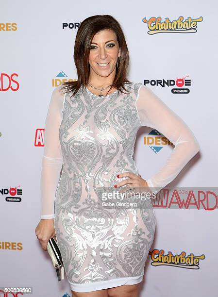 Adult Film Actress Sara Jay Attends The 2016 Adult Video News Awards At The Hard Rock