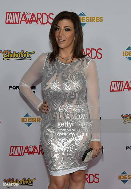 Adult film actress Sara Jay attends the 2016 Adult Video News Awards at the Hard Rock Hotel Casino on January 23 2016 in Las Vegas Nevada