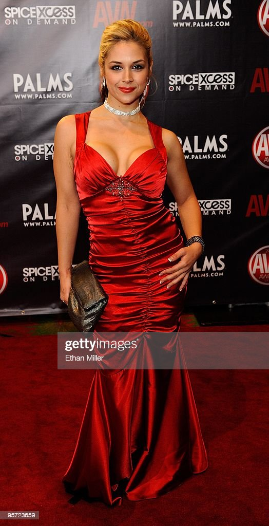 Adult Video News Awards At The Palms Arrivals News Photo