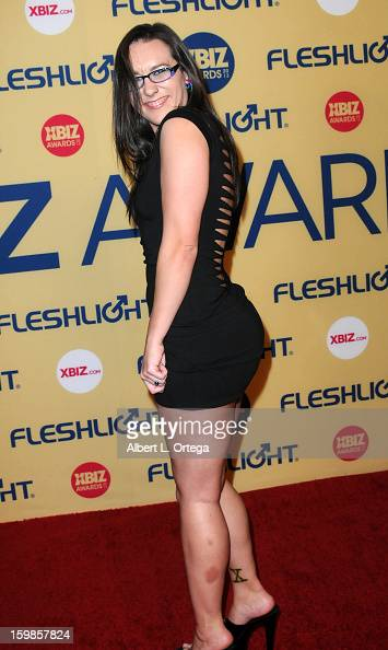 Adult Film Actress Sinn Sage Arrives For The  Xbiz Awards Held At News Photo Getty Images