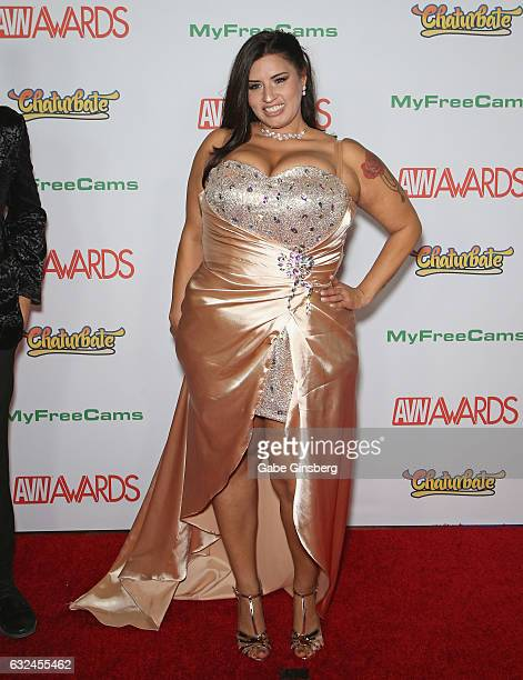Adult film actress Sofia Rose attends the 2017 Adult Video News Awards at the Hard Rock Hotel Casino on January 21 2017 in Las Vegas Nevada