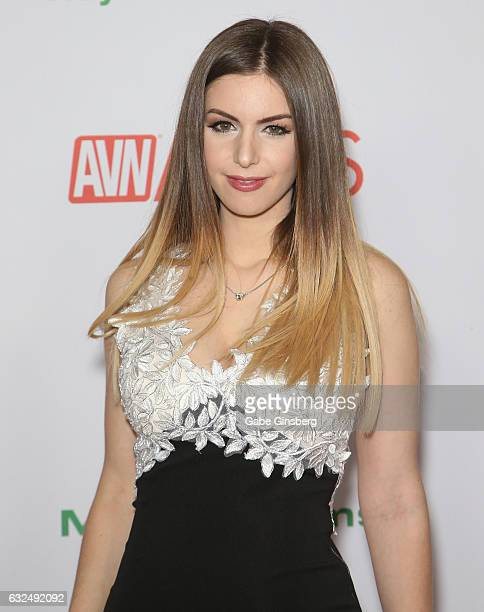 Adult film actress Stella Cox attends the 2017 Adult Video News Awards at the Hard Rock Hotel & Casino on January 21, 2017 in Las Vegas, Nevada.