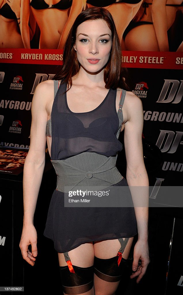 Adult film actress Stoya appears during an autograph signing for Digital Playground at the 2012 AVN Adult Entertainment Expo at The Joint inside the Hard Rock Hotel & Casino January 20, 2012 in Las Vegas, Nevada.