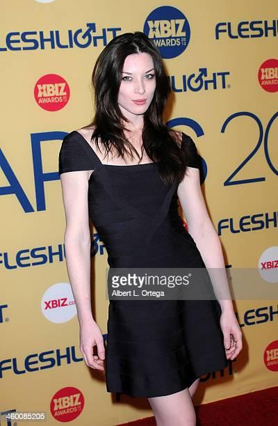 Adult Film actress Stoya arrives for the 2013 XBIZ Awards held at the Hyatt Regency Century Plaza on January 11 2013 in Century City California