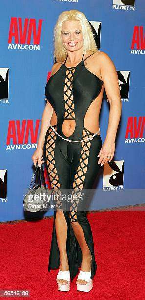 Adult film actress Summer Hayes arrives at the Adult Video News Awards Show at the Venetian Resort Hotel and Casino January 7 2006 in Las Vegas Nevada
