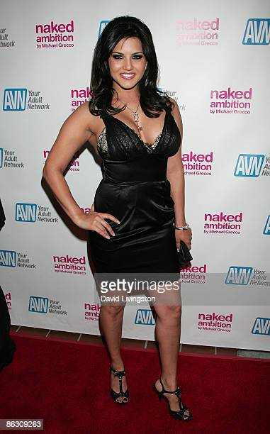 Adult film actress Sunny Leone attends the premiere of the documentary Naked Ambition An R Rated Look at an X Rated Industry at Laemmle's Sunset 5 on...