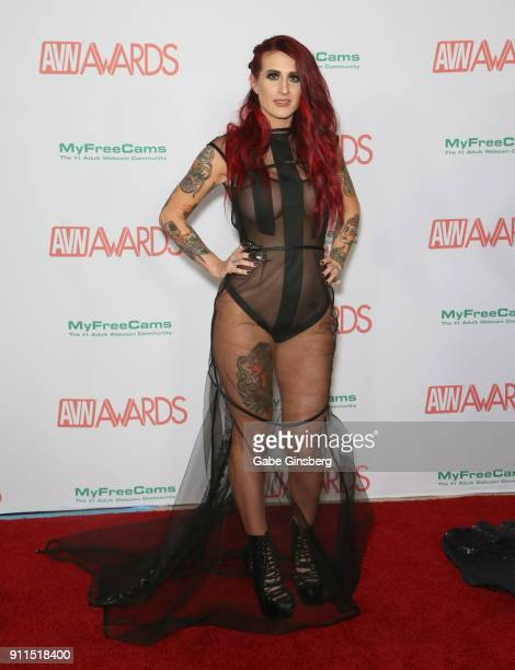 Adult film actress Tana Lea attends the 2018 Adult Video News Awards at the Hard Rock Hotel Casino on January 27 2018 in Las Vegas Nevada