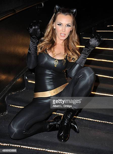 Adult film actress Tanya Tate as Catwoman at FSC After Dark 'Capes Panties' A Superhero Costume Lingerie Auction and Silent Auction to Benefit the...