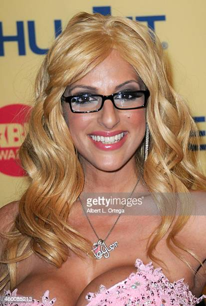 Adult Film actress Taylor Stevens arrives for the 2013 XBIZ Awards held at the Hyatt Regency Century Plaza on January 11 2013 in Century City...