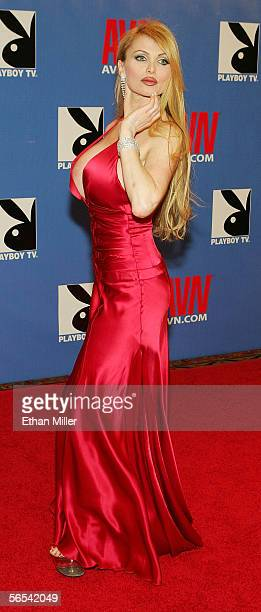 Adult film actress Taylor Wane arrives at the Adult Video News Awards Show at the Venetian Resort Hotel and Casino January 7 2006 in Las Vegas Nevada