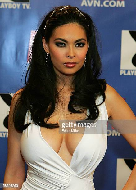 Adult film actress Tera Patrick arrives at the Adult Video News Awards Show at the Venetian Resort Hotel and Casino January 7 2006 in Las Vegas Nevada
