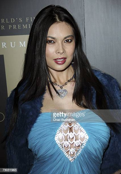 Adult film actress Tera Patrick attends Trump Vodka launch party at Les Deux on January 17, 2007 in Los Angeles, California.