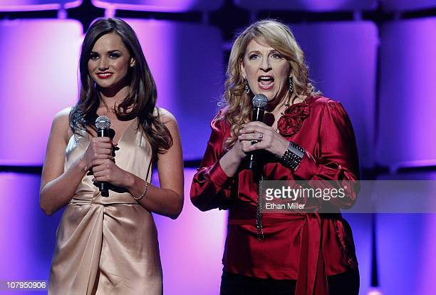Adult film actress Tori Black and comedian Lisa Lampanelli host the 28th annual Adult Video News Awards Show at The Pearl concert theater at the...