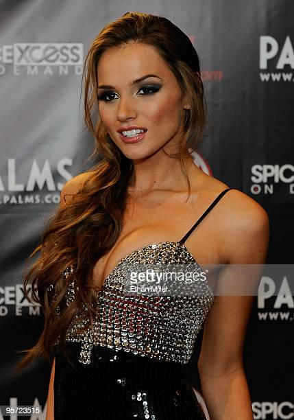 Adult film actress Tori Black arrives at the 27th annual Adult Video News Awards Show at the Palms Casino Resort January 9, 2010 in Las Vegas, Nevada.