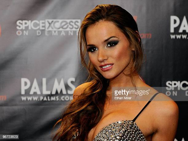 Adult film actress Tori Black arrives at the 27th annual Adult Video News Awards Show at the Palms Casino Resort January 9 2010 in Las Vegas Nevada